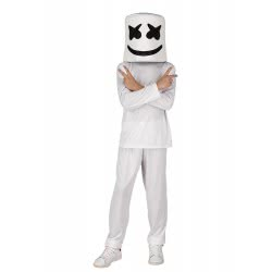 CLOWN Carnaval Costume Peace Dj Fortnite Size 14 77914 5203359779145