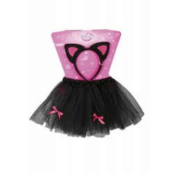 CLOWN Custome Kids Set Cat - Skirt And Cue 71960 5203359719608