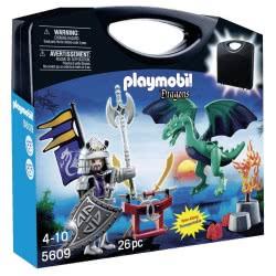 Playmobil Βαλιτσάκι Ιππότης και Δράκος 5609 4008789056092