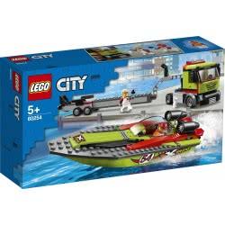 LEGO City Great Vehicles Μεταφορικό Αγωνιστικού Σκάφους 60254 5702016617887