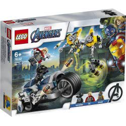 LEGO Marvel Avengers Speeder Bike Attack 76142 5702016618044
