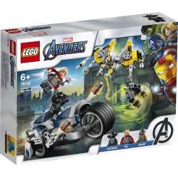 LEGO Super Heroes Επίθεση των Εκδικητών με Μηχανή 76142 5702016618044