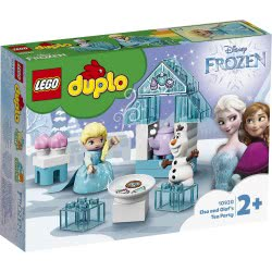 LEGO DUPLO Disney Frozen Set Featuring Elsa And Olaf's Tea Party 10920 5702016618105