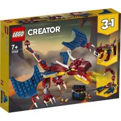 LEGO Creator Δράκος της Φωτιάς 31102 5702016616286