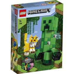 LEGO Minecraft BigFig Creeper και Οσελότος 21156 5702016618235