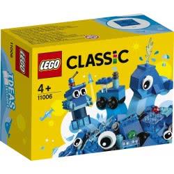 LEGO Classic Δημιουργικά Μπλε Τουβλάκια 11006 5702016616576