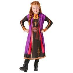 Rubies Disney Frozen 2 Anna Travel Dress 3 - 4 Years 300469S 883028387823