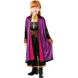 Rubies Disney Frozen II Deluxe Anna Travel Dress 5 - 6 Years 300492M 883028389339