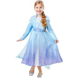 Rubies Disney Frozen II Deluxe Elsa Travel Dress 7 - 8 Years 300491L 883028389308