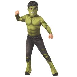 Rubies Avengers Costume Hulk 8 - 10 Years 700686L 883028338528