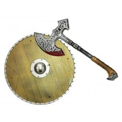 Christakopoulos Shield And Axe Set 9602 5212007554614