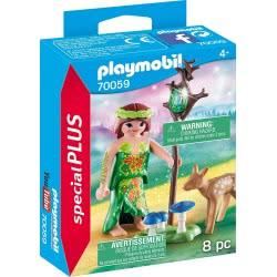 Playmobil Special Plus Fairy With Deer 70059 4008789700599
