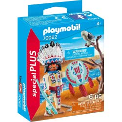 Playmobil Special Plus Native American Chief 70062 4008789700629