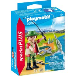 Playmobil Special Plus Fisherman 70063 4008789700636