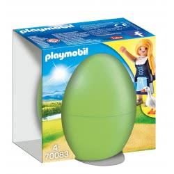 Playmobil Easter Eggs Αγρότισσα Με Χήνες 70083 4008789700834
