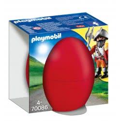 Playmobil Easter Eggs Ιππότης Με Κανόνι 70086 4008789700865