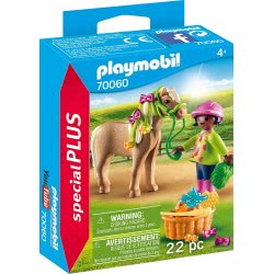 Playmobil Special Plus Girl With Pony 70060 4008789700605