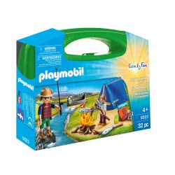 Playmobil Family Fun Camping Adventure Carry Case 9323 4008789093233