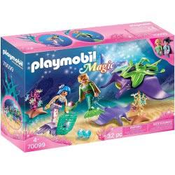 Playmobil Magic Pearl Collectors With Manta Ray 70099 4008789700995