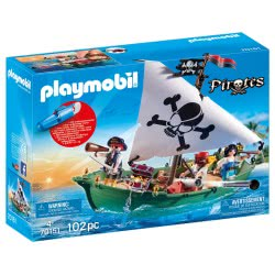 Playmobil Pirate Ship With Underwater Motor 70151 4008789701510