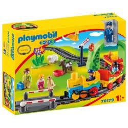 Playmobil Σετ Τρένου 1.2.3 Με Ζωάκια Και Επιβάτες 70179 4008789701794