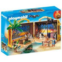 Playmobil Pirates Πειρατικό Νησί-Βαλιτσάκι 70150 4008789701503