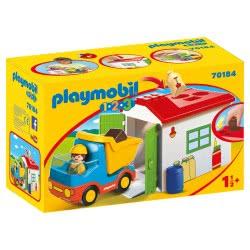 Playmobil Φορτηγό Με Γκαράζ 70184 4008789701848