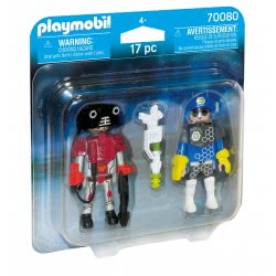 Playmobil Space Police Officer And Thief 70080 4008789700803