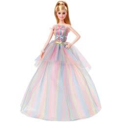 Mattel Barbie Birthday Wishes Χαρούμενα Γενέθλια Συλλεκτική Κούκλα GHT42 887961801392