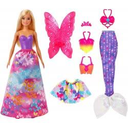 Mattel Barbie Dreamtopia Παραμυθένια Εμφάνιση Σετ Δώρου GJK40 887961813135