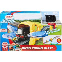 Fisher-Price Thomas And Friends Ανατίναξη Στο Τούνελ Με Τον Diesel GHK73 887961795592