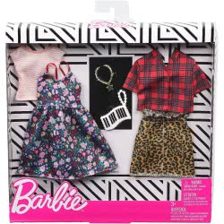 Mattel Barbie Μόδες Σετ Των 2 Τεμαχίων FKT27 / GHX57 887961805277