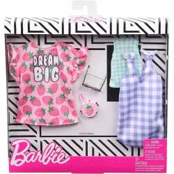Mattel Barbie Μόδες Σετ Των 2 Τεμαχίων Dream Big FKT27 / GHX61 887961805352