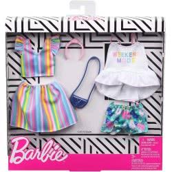 Mattel Barbie Μόδες Σετ Των 2 Τεμαχίων Weekend Mode FKT27 / GHX59 887961805321