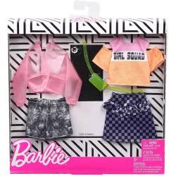 Mattel Barbie Μόδες Σετ Των 2 Τεμαχίων Girl Squad FKT27 / GHX58 887961805284