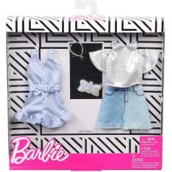 Mattel Barbie Μόδες Σετ Των 2 Τεμαχίων  FKT27 / GHX56 887961805338