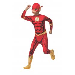 Rubies DC Superhero The Flash Carnaval Costume 5 - 7 Years 881332M 883028133260