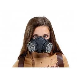 fun world Αποκριάτικη Μάσκα Ασφυξιογόνα Πυρινική 3547 5212007564606