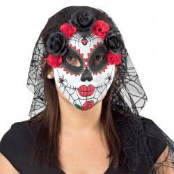 Fun Fashion Μάσκα Βραζιλιάνικη Με Λουδούδια Και Τούλι 80773 5204745807732