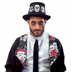 Fun Fashion Καπέλο Ημίψηλο Με Νεκροκεφαλές 81024 5204745810244