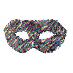 Fun Fashion Μάσκα Με Χρωματιστές Παγιέτες 80903 5204745809033