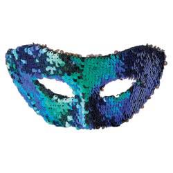Fun Fashion Μάσκα Με Παγιέτες Πράσινη 80905 5204745809057