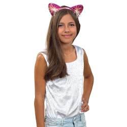 Fun Fashion Στέκα Γάτας Μεταλιζέ 81060 5204745810602