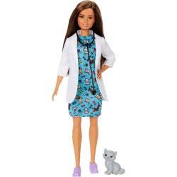 Mattel Barbie Pet Vet Κτηνίατρος Με Γατάκι GJL63 887961813630