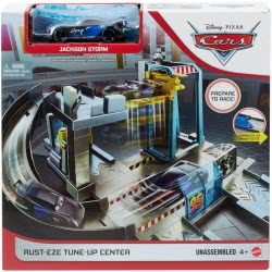Mattel Disney Pixar Cars Rust-Eze Tune-Up Center Αγωνιστικό Συνεργείο GJW43 887961819236