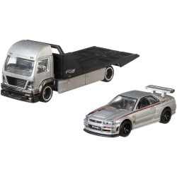 Mattel Hot Wheels Nissan Skyline Gt-R And Aero Lift Premium Collector FLF56 / FYT10 887961708844