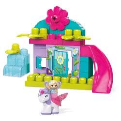 MEGA BLOKS First Builders Lil Fairies Enchanted Cottage GKX80 887961833324