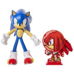 JAKKS PACIFIC Sonic The Hedgehog Figure 10Cm With Accessory - 4 Designs JPA40050 192995400504