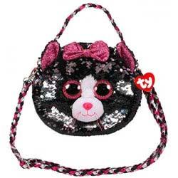 ty Fashion Sequin Kiki CAT Shoulder Bag-Sequined 1607-95120 008421951208