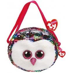 ty Fashion Sequin Owen OWL Shoulder Bag-Sequined 1607-95123 008421951239